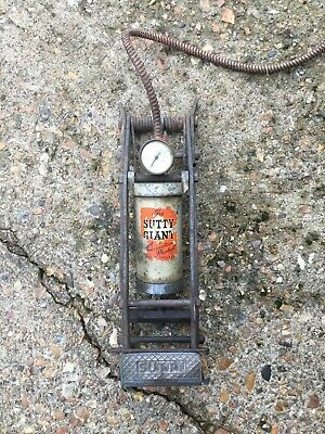 Vintage Foot Pump, Sutty Giant