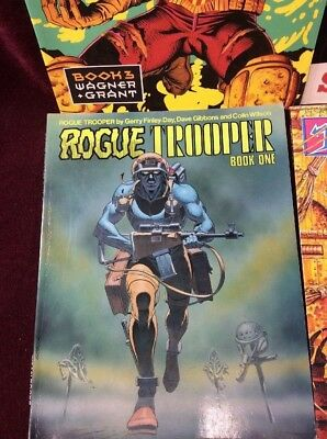 2000 AD  Rogue Trooper Book One Titan books TPB graphic novel