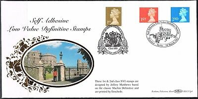benham 1997 self adhesive low value definitive stamps FDC