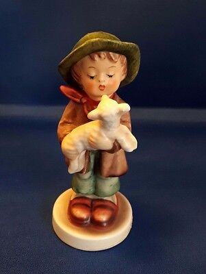 "Vintage Goebel Hummel Figurine ""The Lost Sheep"" 1962."