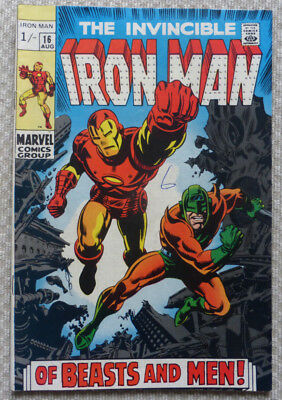 The Invincible Iron Man #16, A Silver Age Classic From 1969.