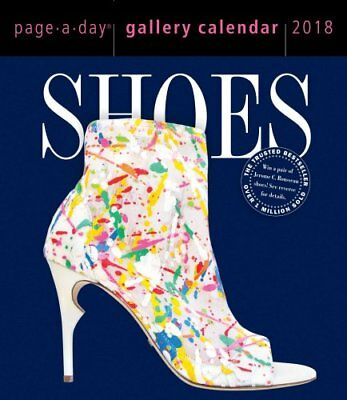 Shoes Page-A-Day Gallery Calendar 2018 by Workman Publishing 9781523500765