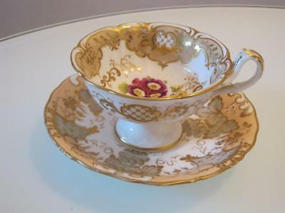 STUNNING 19th CENTURY PORCELAIN CUP AND SAUCER