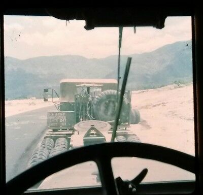 Vietnam Slide- 2 Tour Army GI with 18TH ENGINEER BRIGADE collection 1966-70 #54
