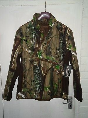 Deerhunter Gamekeeper Realtree Fleece Size 38/40 Waterproof Breathable Windproof