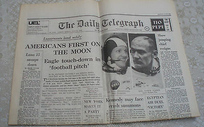 Daily Telegraph The First Man On The Moon