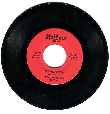 Norma Jenkins and The Dolls The Airplane Song Northern Soul 1966 RARE HEAR IT!