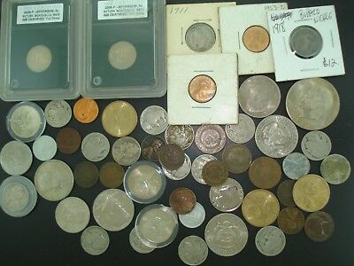 Lot of (50) Old & Modern U.S. Coins **NO RESERVE**