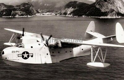 WW2 Picture Photo 1943 PBM-3S Mariner aircraft US Navy bombing squadron 2256