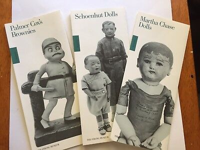 Vintage Schoenhut Martha Chase Dolls Strong Museum Brochure Lot