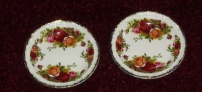Royal Albert Old Country Roses  Coasters Made In England  1St Quality Boxed