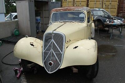 1950 Citroen Light 15 for total restoration complete with spares
