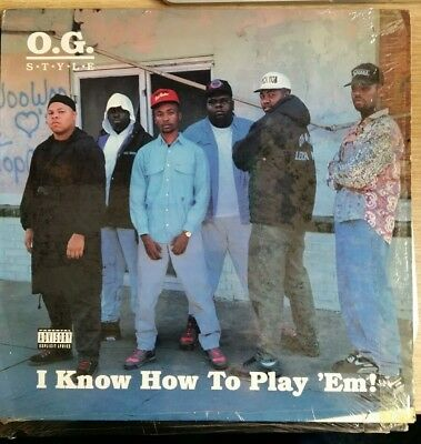 "O.G. Style ‎– I Know How To Play 'Em! 12"" LP"
