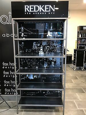 Redken Retail Display Stand Shelving for Hairdressing Hair Salon
