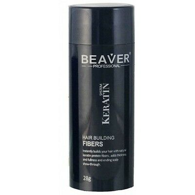 BEAVER Hair Building Fibers Medium Blonde 28g SALE £5.99 Free Shipping Worldwide