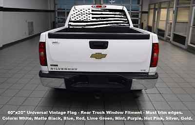 Truck Back Window Decals >> 60 X20 Rear Window Usa Flag Truck Decal Graphics Choose