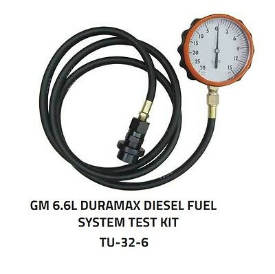 LANG Tools USA TU-32-6 Duramax Diesel Fuel System Test Kit 6.6L General Motors