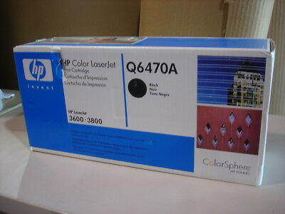 HP (Hewlett-Packard) Q6470A black toner for the Color LaserJet 3600 and others