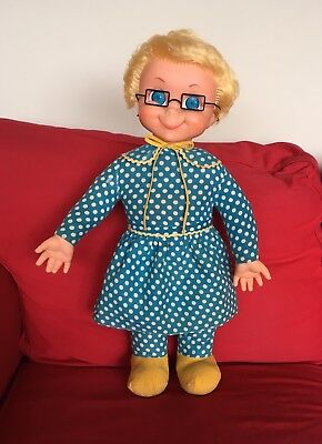 Mrs Beasley Doll 1967 by Mattel * Family Affair * Cleaned and Restored to Talk