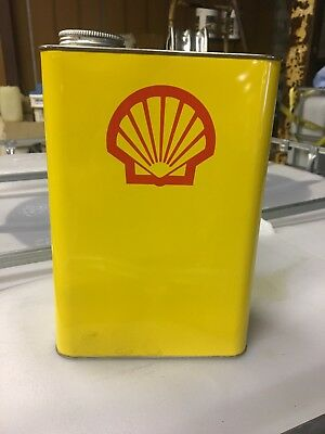 Vintage Shell Oil 1gal Can