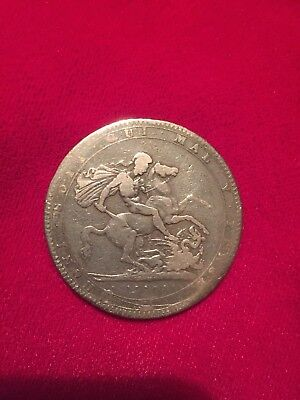 1819 George 111 milled silver crown