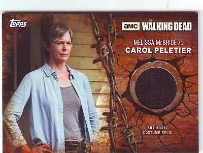 2017 Topps Walking Dead Season 7 Mellia McBride as Carol Peletier Costume Jacket