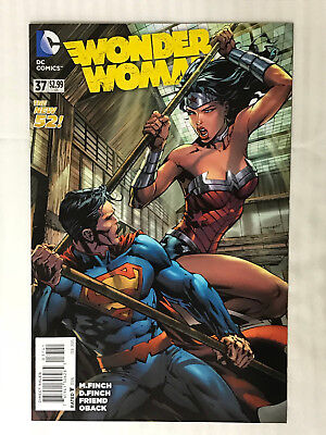 Wonder Woman #37 - 1:100 Variant! VF/NM - David Finch Cover!
