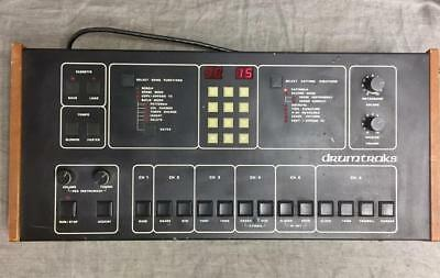 VINTAGE Sequential Circuits Inc DrumTraks Drum Machine Model 400