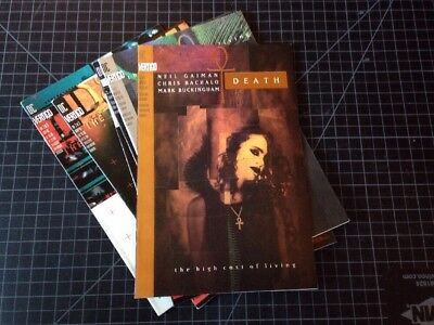 Death High Cost Of Living 1 2 3, Time Of Your Life 1 2 3 Sandman Neil Gaiman