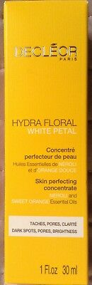 Decleor Hydra Flora -White Petal Concentrate 30 ml-New