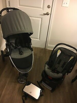 BRITAX B-Agile 35 B Safe Travel System Stroller with Car Seat