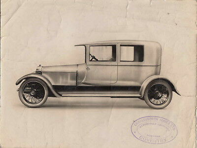 Charlesworth Bodies Ltd., With Rolls Royce Type Grill Car, Period Photograph.