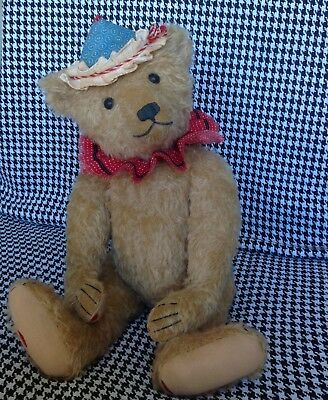"Hampton Bears PDF  Sewing Pattern For Large 20"" Antique Style Jointed Teddy Bear"