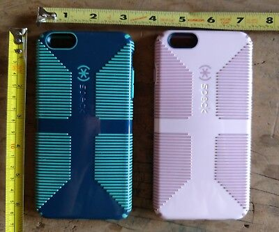 LOT OF 2 Speck Candyshell Grip iPhone 6 6S PLUS Case Cover Apple ID Cell Phone
