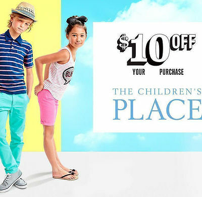 Code $10 OFF your $40 purchase and more at Children's Place