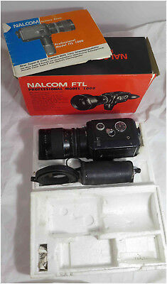 camera super 8 nalcom ftl 1000 objectif  interchangeable