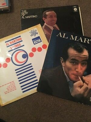 Al Martino 3 x Vinyl Records