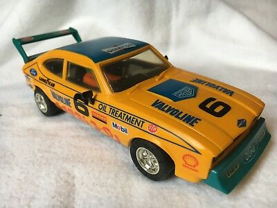 SCALEXTRIC HORNBY 1980's FORD CAPRI 3.0s 'Rally Special' #6 C379 Boxed