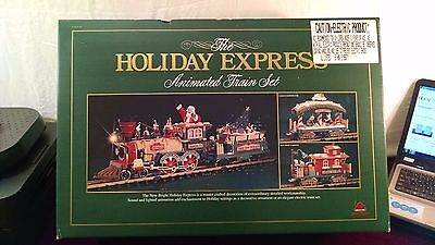 Brand New #380 New Bright Holiday Express Animated Train Set With Tags G Scale