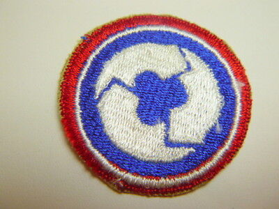 A      U S Army 311th Support Brigade Cut Edge Snow Back Patch