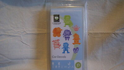 Cricut Cartridge - CAR DECALS - Complete - BRAND NEW!  Never Opened