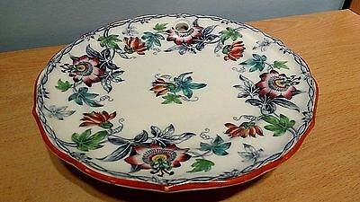 """Antique Minton & Co """"Passion Flower"""" Hand Finished Food Warmer.#9447,Dated 1852."""