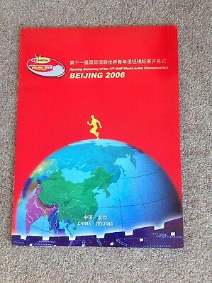 OPENING CEREMONY OF THE 11th IAAF WORLD JUNIOR CHAMPIONSHIPS BEIJING 2006