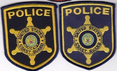 United States Coast Guard & Academy Police Patches