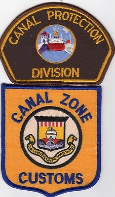 Panama Canal Zone Police Protection -  Patch Set!