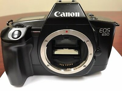 Canon EOS 650 35mm SLR Film Camera Body Only