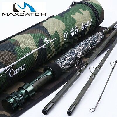 Fliegenrute, Fly-rod MaxCatch Camo 905-4