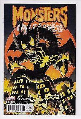 Monsters Unleashed #6 Venomized Villains Variant (Marvel, 2017) New/Unread (NM)