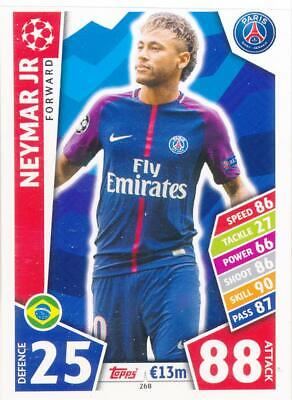 Match Attax Champions League 17/18 - 268 - Neymar Jr - Paris Saint-Germain