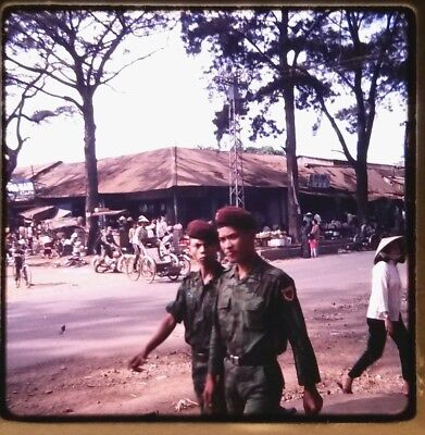 Vietnam Slide- 2 Tour Army GI with 18TH ENGINEER BRIGADE collection 1966-70 #70